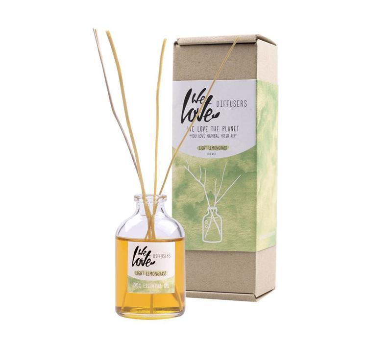 Geur diffuser 50ml - We Love The Planet - Light Lemongrass