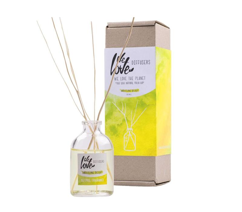 Geur diffuser 50ml - We Love The Planet - Darjeeling Delight