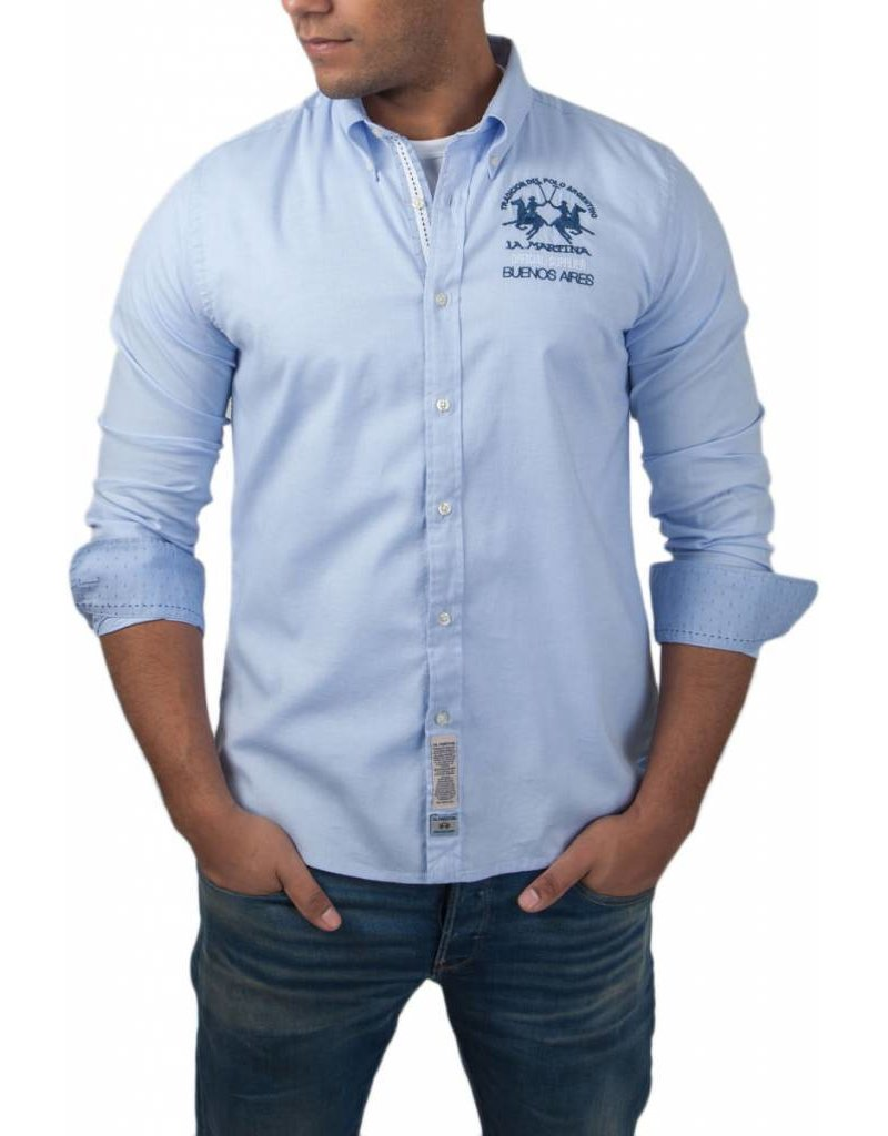 La Martina ® Shirt Oxford Argentina