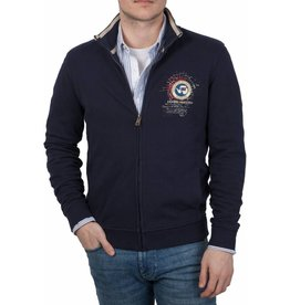 Napapijri Napapijri ® Sweatshirt mit Reißverschluss, Dunkelblau