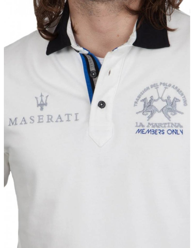 La Martina ® Sweatshirt Maserati, off White