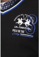 La Martina ® Pullover Polo City, Schwarz