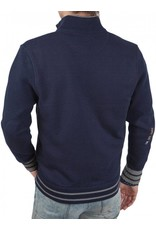 La Martina ® Strickjacke University Polo Club, Dunkelblau