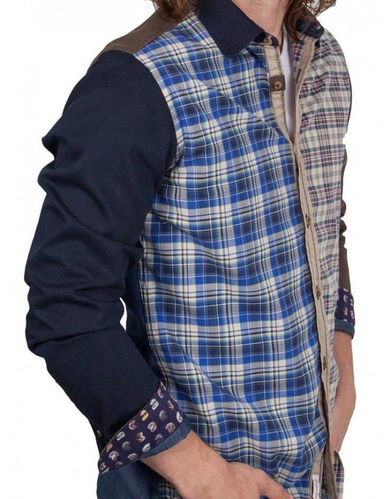 Lucky de Luca ® Hemd Patchwork