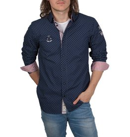 van Santen & van Santen van Santen ® VSP Hemd, dunkelblau