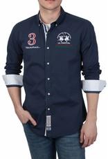 La Martina ® Hemd Maserati, Dunkelblau