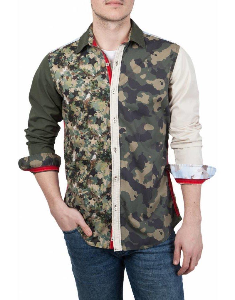 Lucky de Luca ® Hemd Camouflage Fantasy