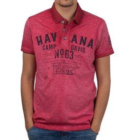 Camp David Camp David ® Polo Shirt Havanna
