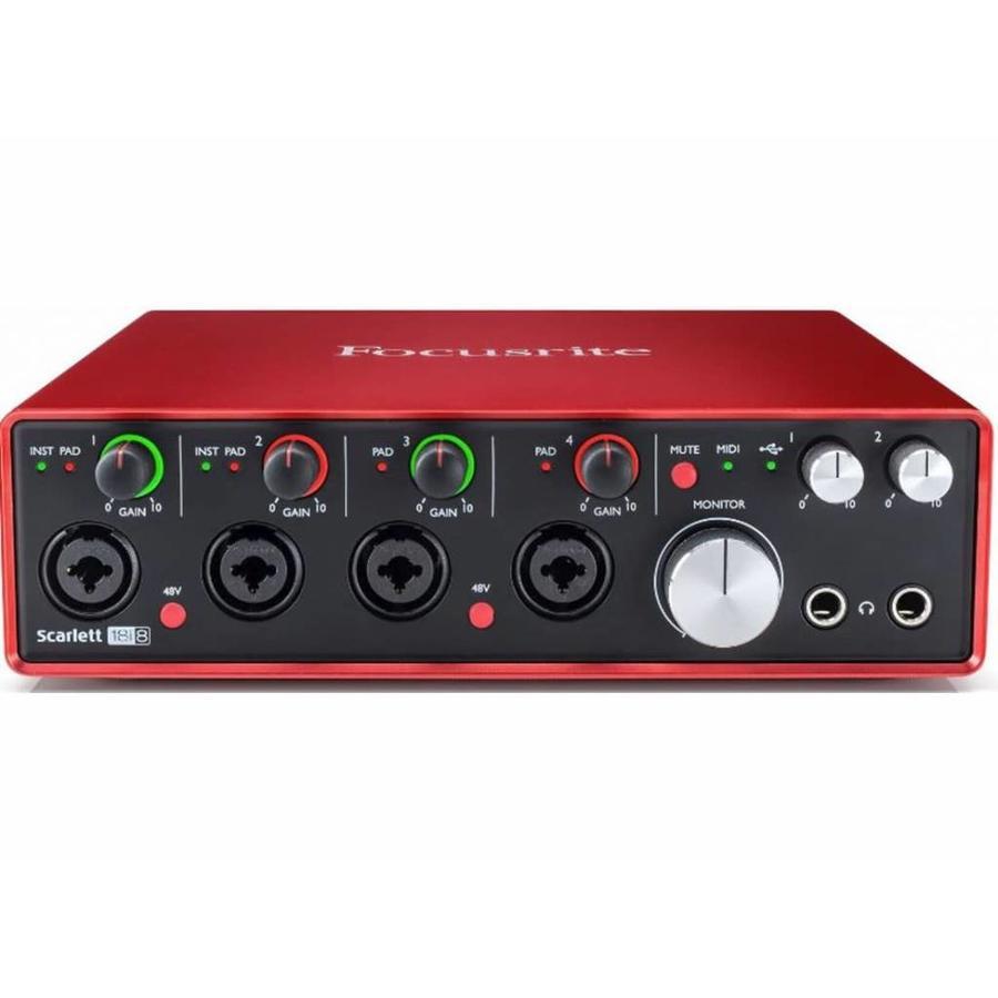 Focusrite Scarlett 18i8 (2nd Gen) USB Audio Interface
