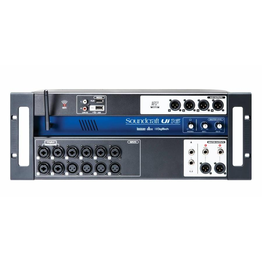 Compact digital mixing engine- Soundcraft Ui16