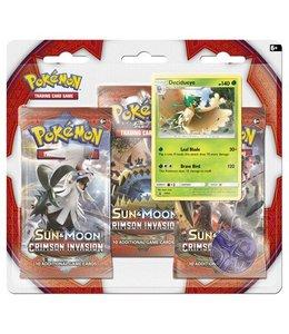 Pokemon Sun & Moon Crimson Invasion 3 Booster Blister