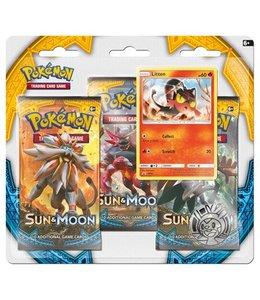 Pokemon Sun & Moon 3 Booster Blister
