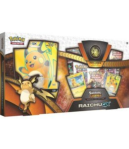 Pokemon Shining Legends Raichu GX