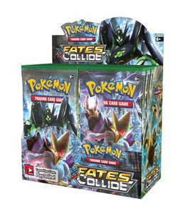 Pokemon Fates Collide Booster