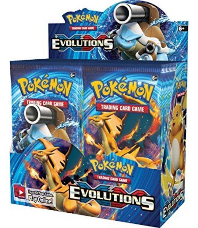 Pokemon Evolutions Booster