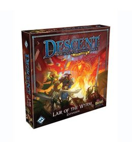 Fantasy Flight Games Descent Journeys in the Dark Lair of the Wyrm Expansion