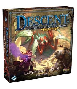 Fantasy Flight Games Descent Journeys in the Dark Labyrinth of Ruin Expansion