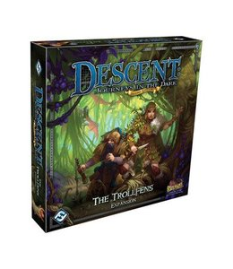 Fantasy Flight Games Descent Journeys in the Dark The Trollfens Expansion