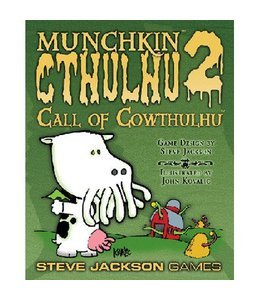 Steve Jackson Games Munchkin Cthulhu Expansion 2 Call Of Cowthulhu