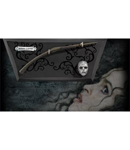 Noble Collection Bellatrix Wand with wall display