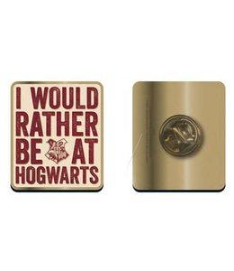 GYE Harry Potter Badge Hogwarts Slogan