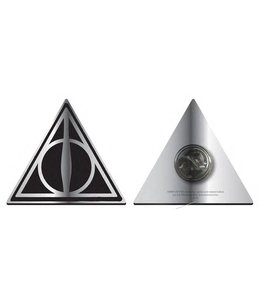 GYE Harry Potter Badge Deathly Hallows