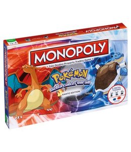 Winning Moves Monopoly Pokemon Kanto Edition
