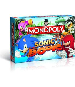 Winning Moves Monopoly Sonic Boom