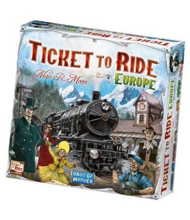 Days of Wonder Ticket to Ride Europe - NL