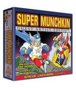 Steve Jackson Games Super Munchkin Guest Artist Edition Lar de Souza