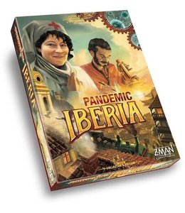 Z-Man Games Pandemic Iberia