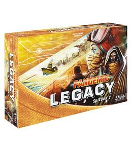 Z-Man Games Pandemic Legacy Seizoen 2 Yellow NL