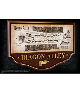 Noble Collection Diagon Alley Wall Plaque