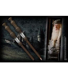 Noble Collection Dumbledore Wand Pen and Bookmark