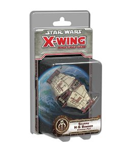 Fantasy Flight Games Star Wars X-Wing Scurrg H-6 Bomber Expansion Pack