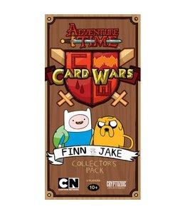 Cryptozoic Entertainment Adventure Time Card Wars - Finn vs. Jake