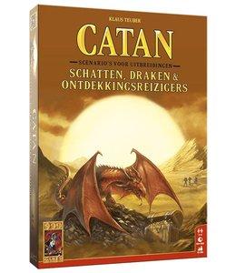 999 Games Catan Schatten. Draken and Ontdekkingsreizigers