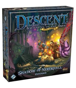 Fantasy Flight Games Descent 2nd Edition Shadow of Nerekhall Expansion