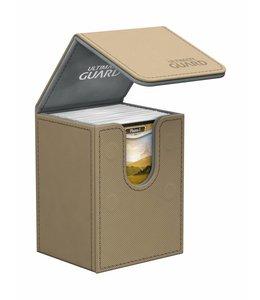 Ultimate Guard Ultimate Guard Flip Deck Case 80+ Standard Size XenoSkin Sand