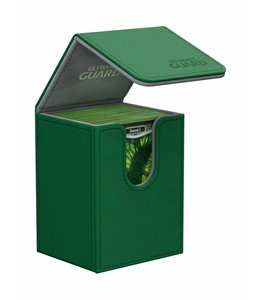 Ultimate Guard Ultimate Guard Flip Deck Case 80+ Standard Size XenoSkin Green