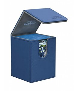 Ultimate Guard Ultimate Guard FlipnTray Deck Case 100+ Standard Size XenoSkin Blue
