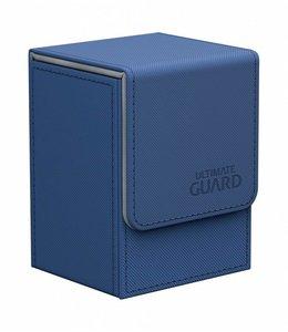 Ultimate Guard Ultimate Guard Flip Deck Case 80+ Standard Size XenoSkin Blue