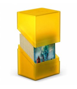 Ultimate Guard Ultimate Guard Boulder Deck Case 80+ Standard Size Amber