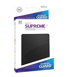 Ultimate Guard Ultimate Guard Supreme UX Sleeves Standard Size Matte Black 80