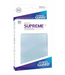 Ultimate Guard Ultimate Guard Supreme UX Sleeves Standard Size Matte Transparent 80