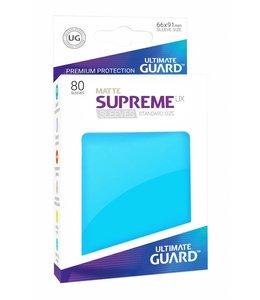 Ultimate Guard Ultimate Guard Supreme UX Sleeves Standard Size Matte Light Blue 80