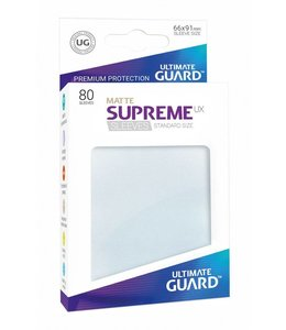 Ultimate Guard Ultimate Guard Supreme UX Sleeves Standard Size Matte Frosted 80