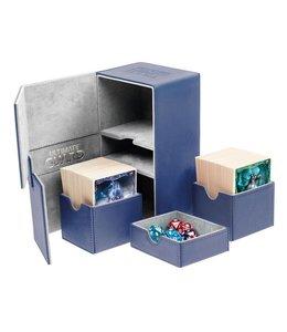 Ultimate Guard Ultimate Guard Twin FlipnTray Deck Case 160+ Standard Size XenoSkin Blue