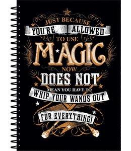 HP merch Harry Potter Notebook A5 Magic