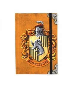 HP merch Harry Potter A6 Notebook Huffelpuff